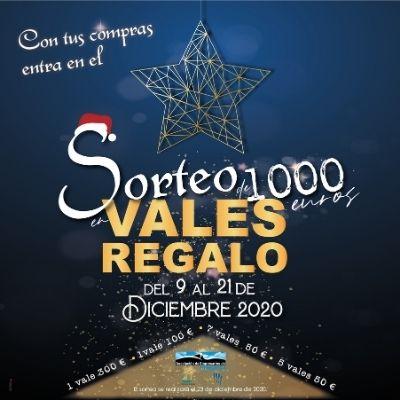 Sorteo de Navidad de 1.000 euros en vales regalo